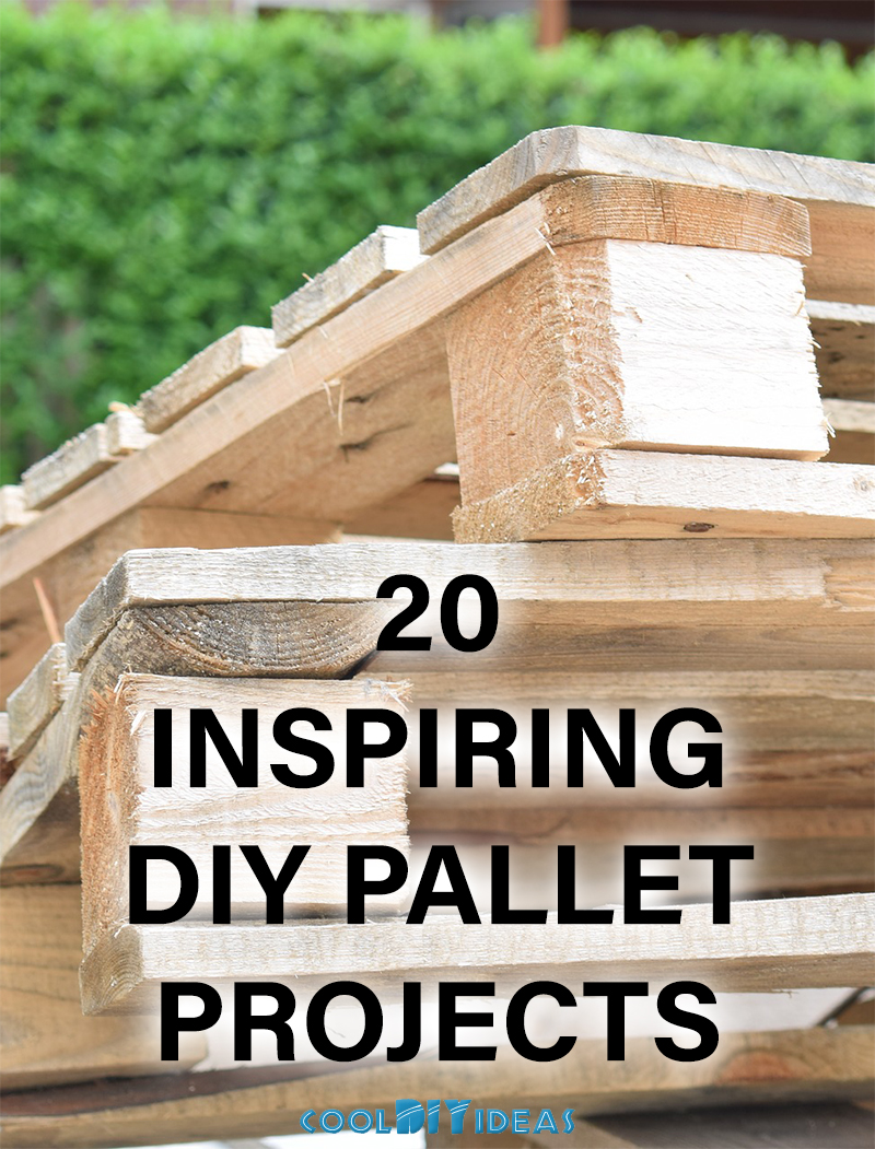 20 Inspiring DIY Pallet Projects