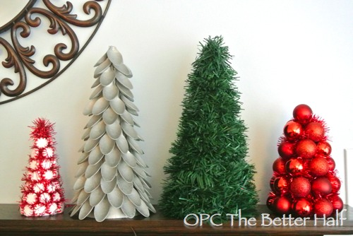 Dollar Store Christmas Trees