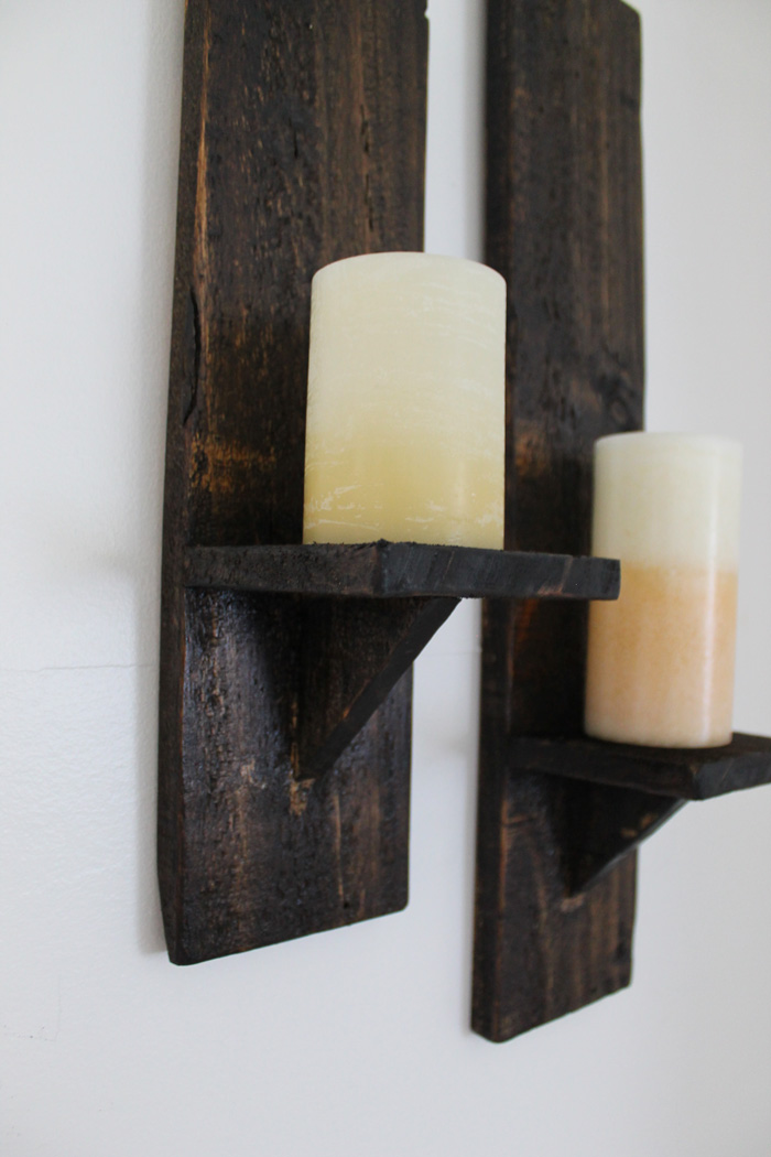 Wood And Glass Candle Wall Sconces : 20 DIY Pallet Projects Worth Doing Yourself
