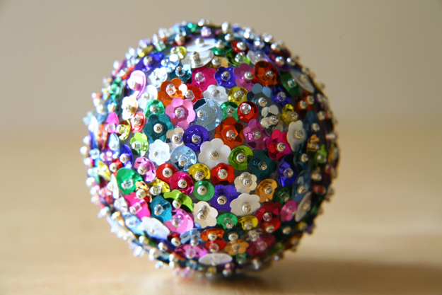 Sequin Sparkles Ornament