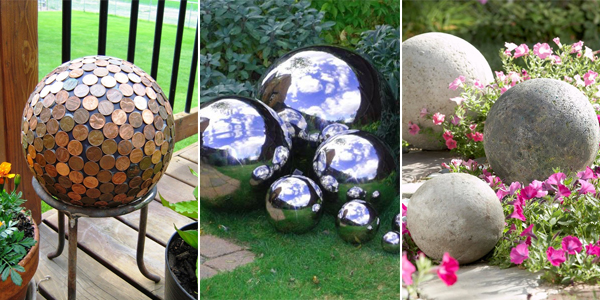 40 DIY Decorative Garden Balls Beauteous Decorative Globe Balls