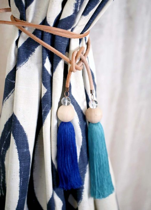 tassel curtain tie backs