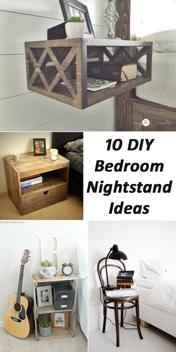 Oak Bedroom Nightstands