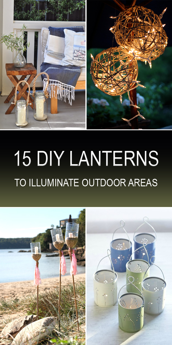 15 DIY lantern ideas that can beautifully illuminate any porch, patio, or garden