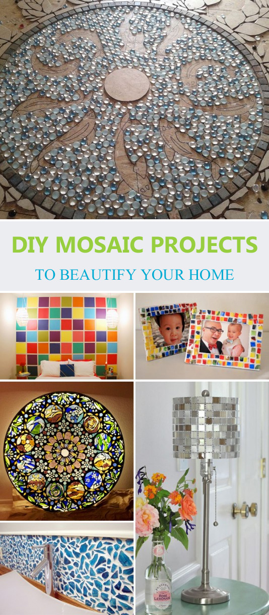 15 DIY Mosaic Projects To Beautify Your Home