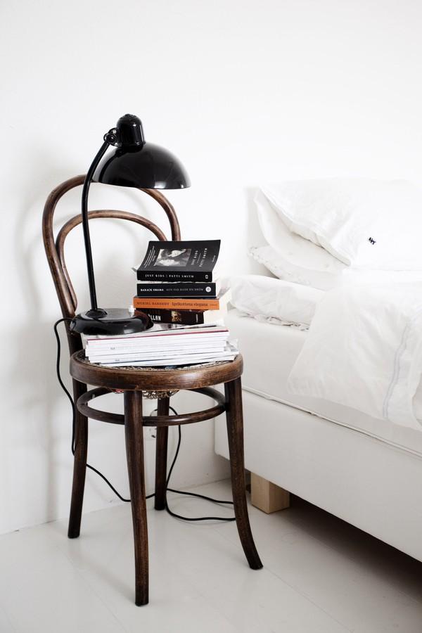 Chair nightstand