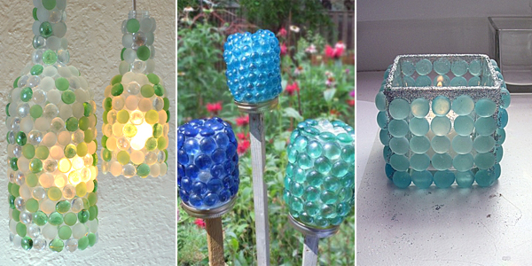 10 insanely clever crafts you can make with glass gems for Plastic gems for crafts