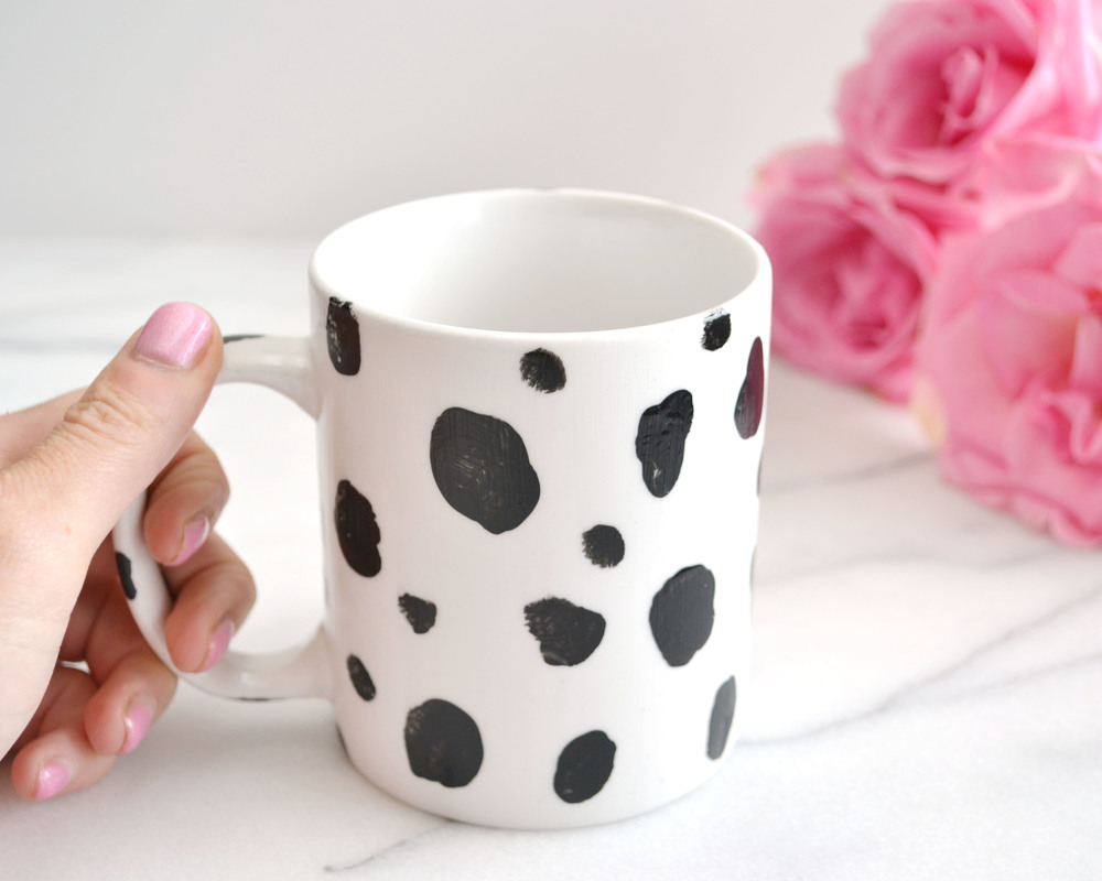 Dalmatian Print Mug