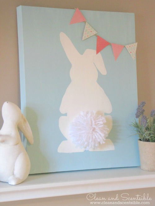 10 cheap easy diy easter decorations for How to make easter decorations for the home