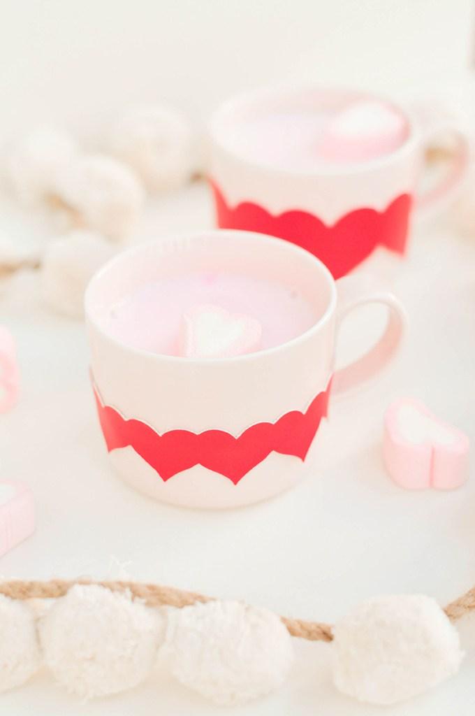 Heart Mug Wraps