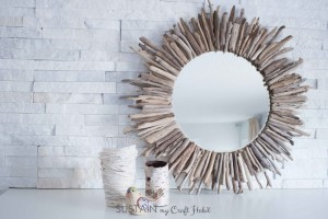 Make an Impressive Driftwood Mirror