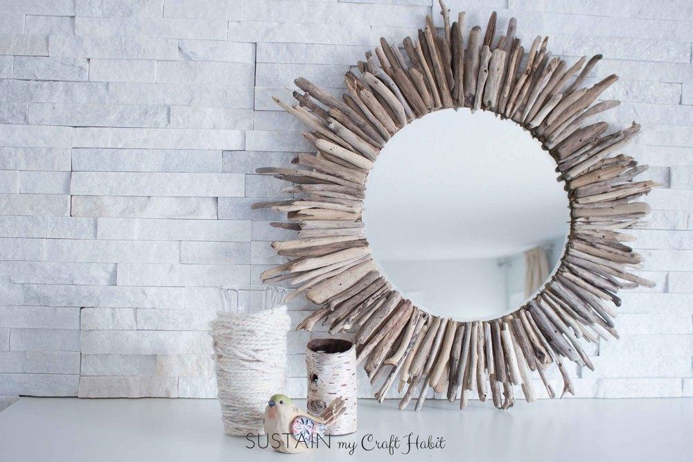 Make an Impressive Driftwood Mirror
