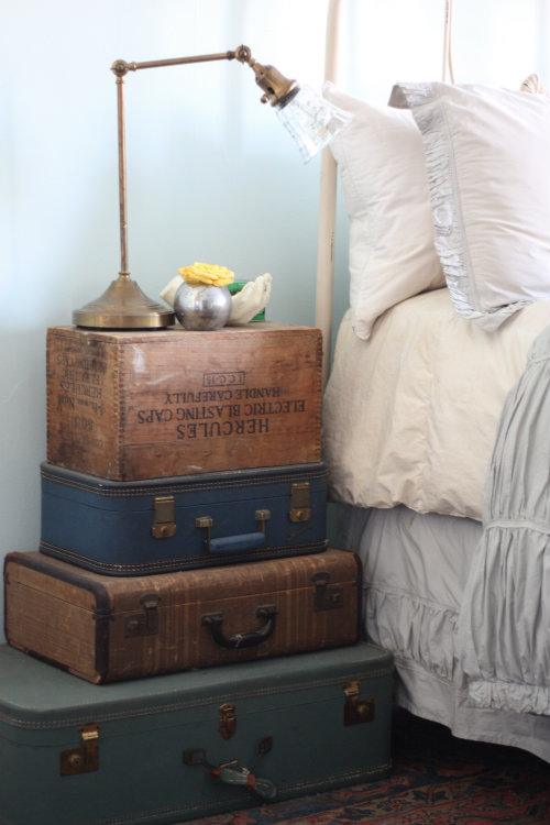 Old Trunk Ideas Decor Rustic