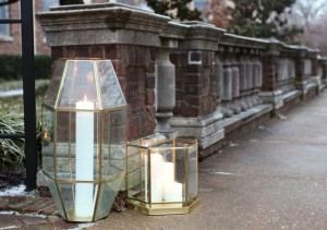 Turn Old Light Fixtures into Stylish, Geometric Lanterns