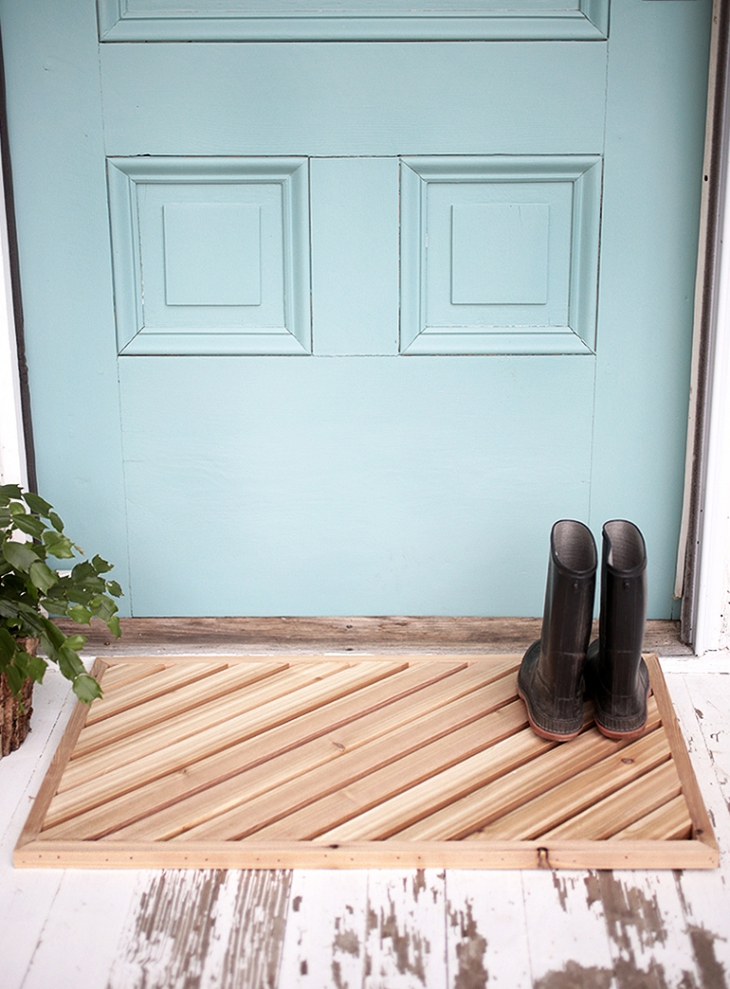 10 Diy Welcome Mats That Will Jazz Up Your Front Porch