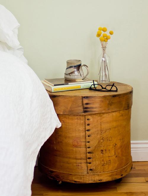 cheese box nightstand