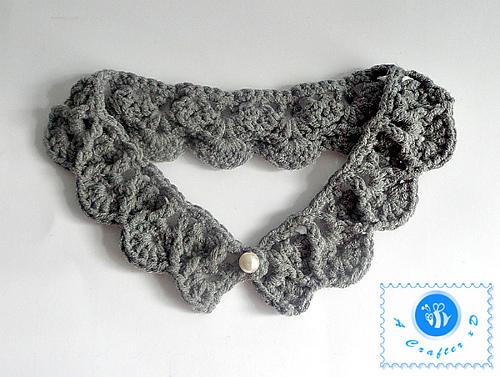 Crochet Pearl Drops Necklace