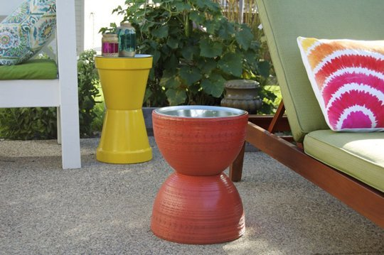 Flower Pot Table