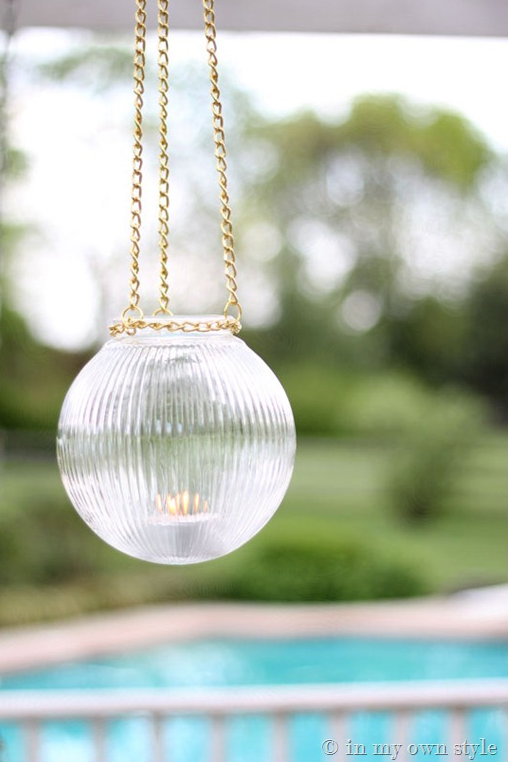 Outdoor Glass Globe Lights