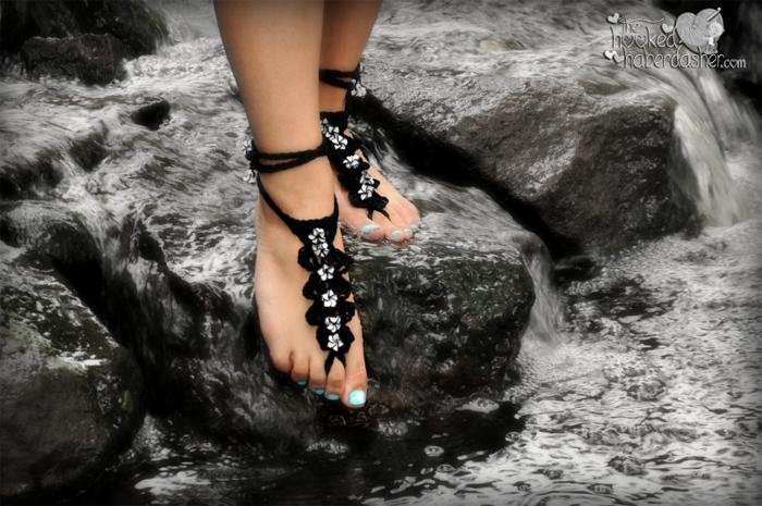 Seaside Barefoot Sandals