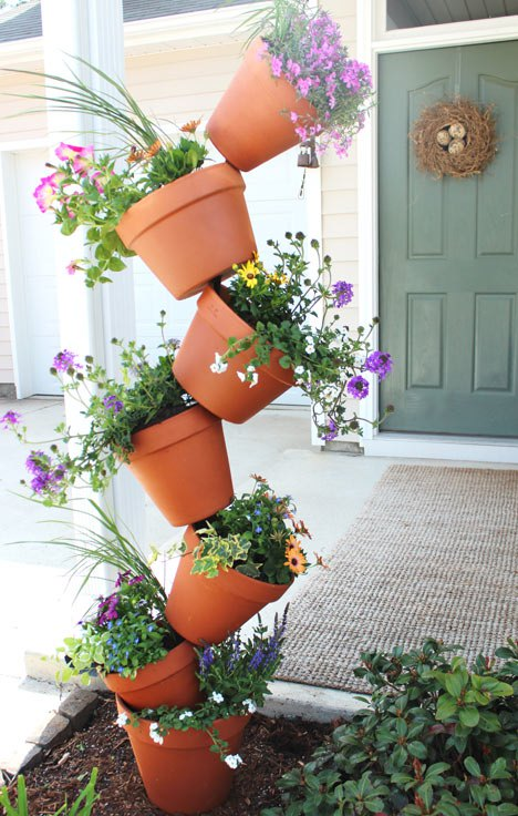 Topsy Turvey Flower Planter