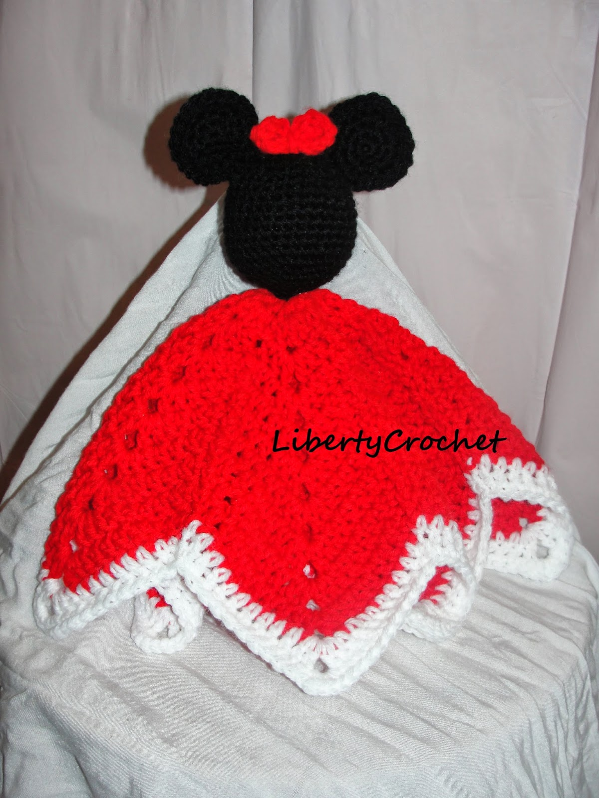 Minnie Inspired Crochet Blanket