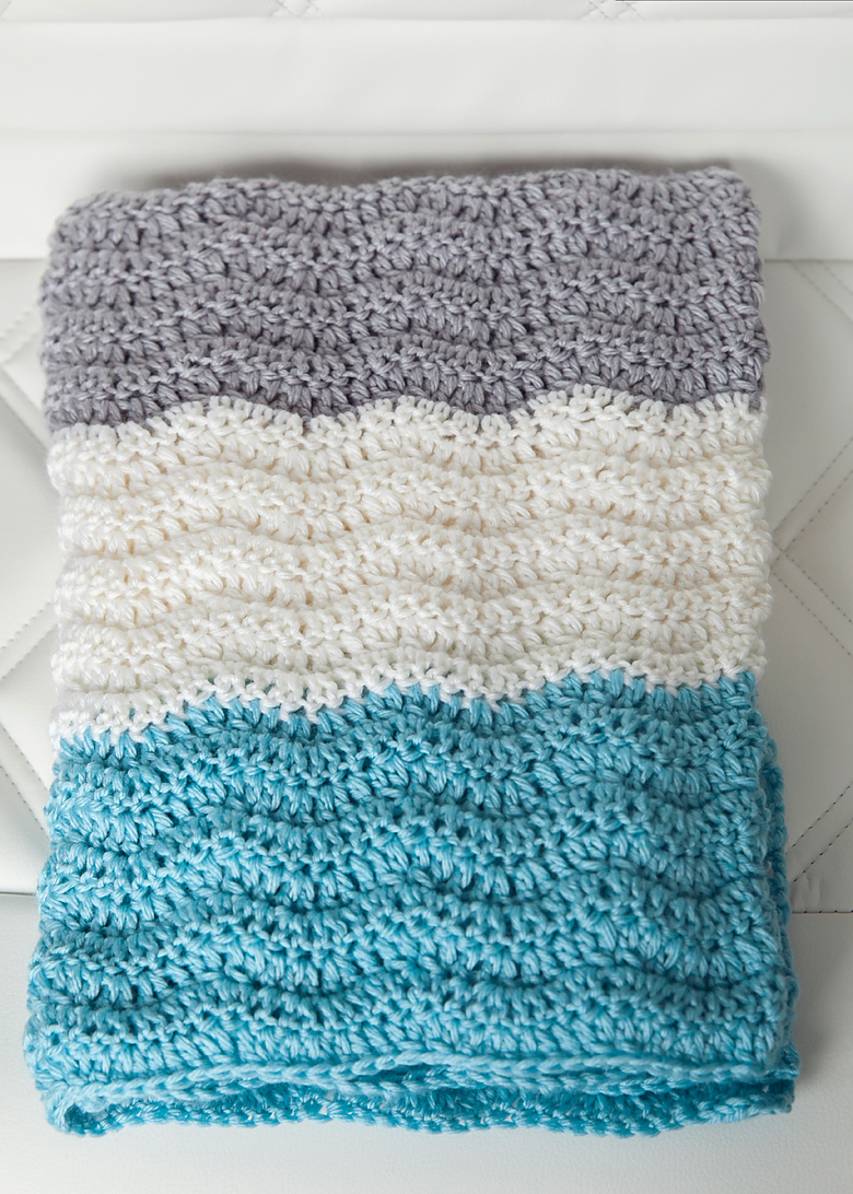 New Crochet Baby Afghan Patterns : 12 Free and Cute Baby Blanket Crochet Patterns