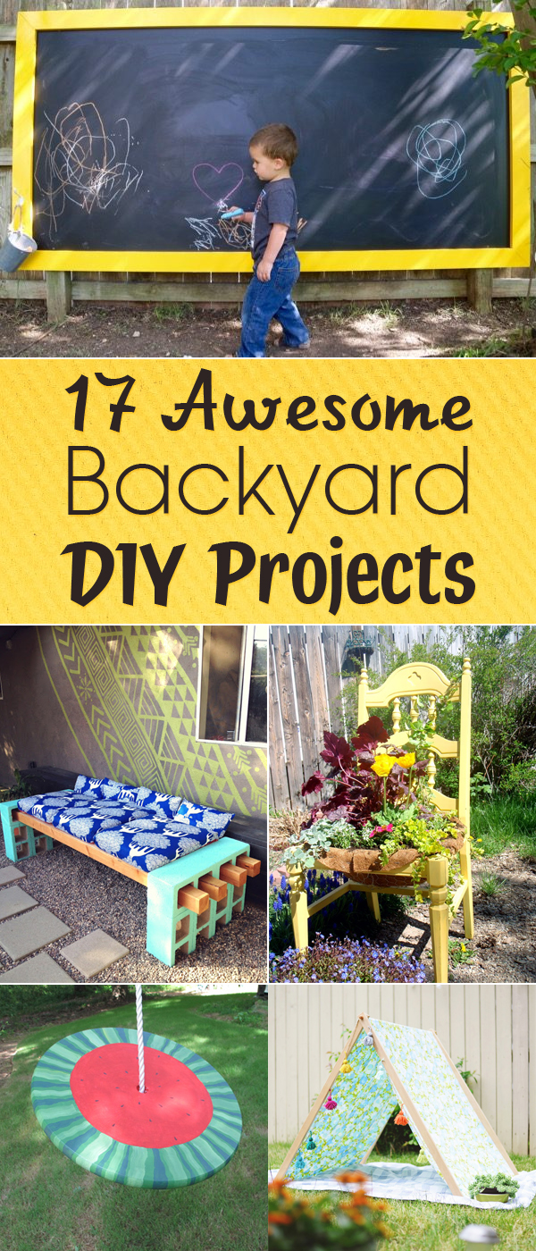17 Awesome Backyard DIY Projects You Must Do This Summer