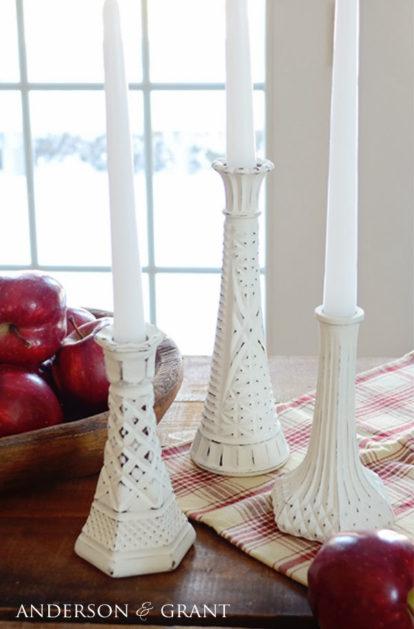 Distressed Candlesticks