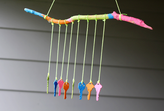 Key Wind Chime