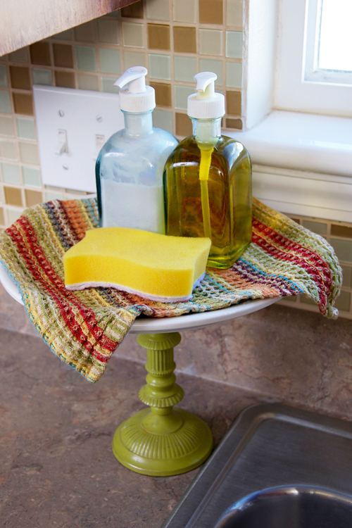 Kitchen Dish Soap Cake Stand