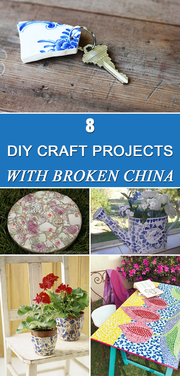 From Trash To Treasure 8 Diy Craft Projects With Broken China