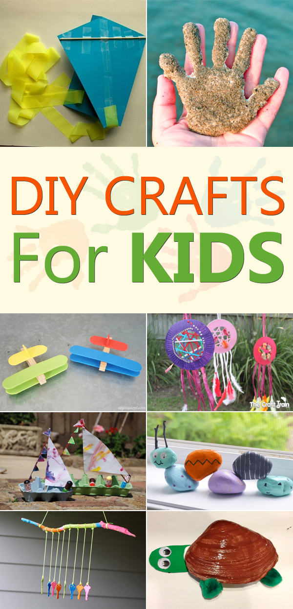 Keep Your Little Ones Busy For Hours With These DIY Crafts For Kids