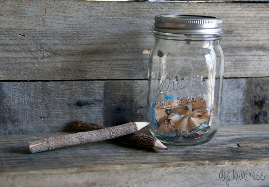 Mason Jar Pencil Sharpener