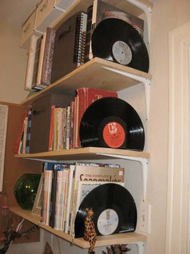top 14 most creative uses for old vinyl records