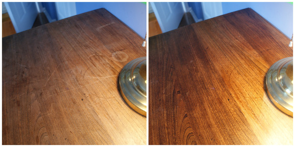 Olive Oil & Vinegar Wood Furniture Polish/Cleaner