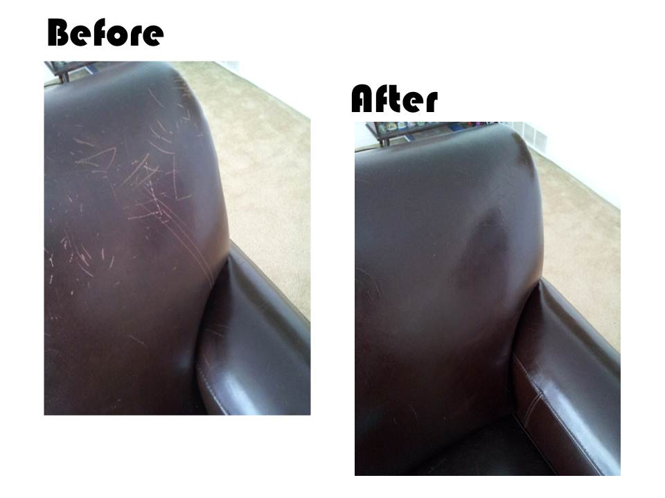 Repair Scratches on Leather Furniture