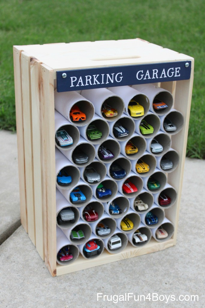 PVC Pipe Car Garage