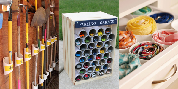 Garden Tool Organization Pvc Pipes