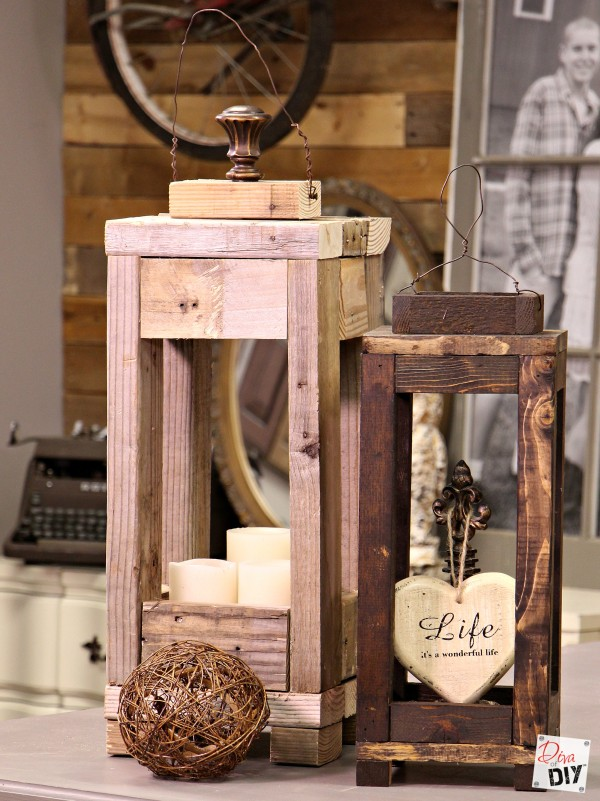 Make Wood Lanterns With Scrap Wood