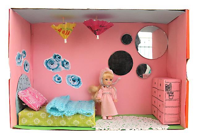 Shoe Box Dollhouse