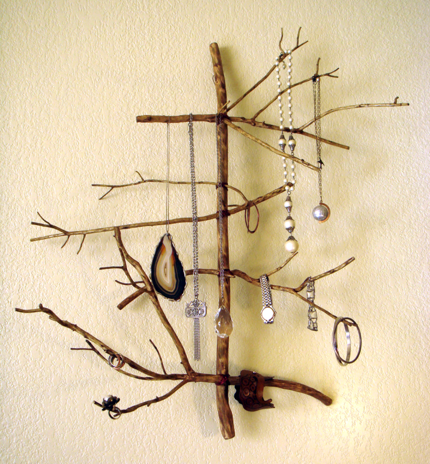 Twig Jewelry display