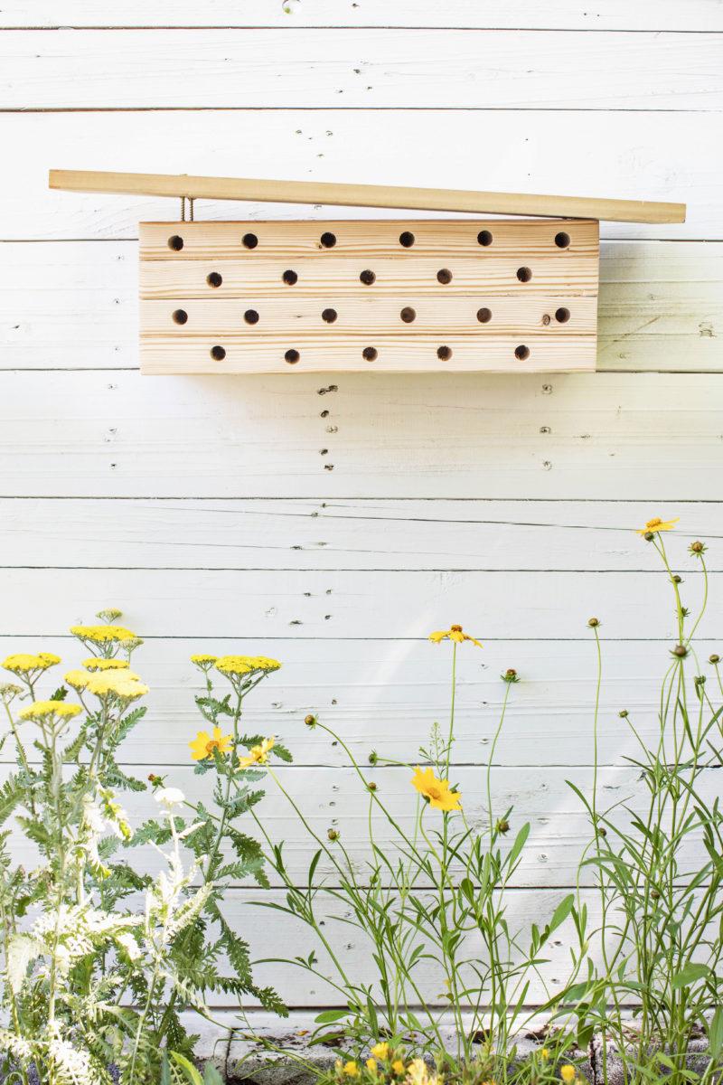 Modern Mason Bee House