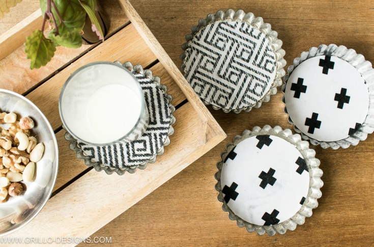Tart Tin Coasters