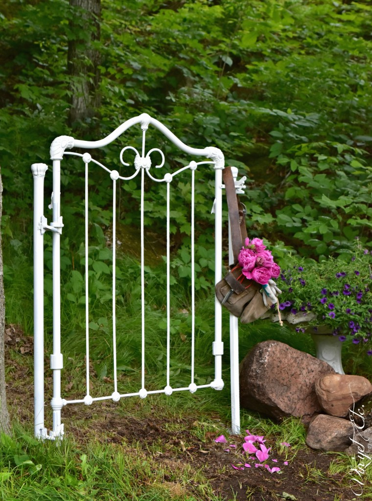 Secret Garden Gate from Antique Crib