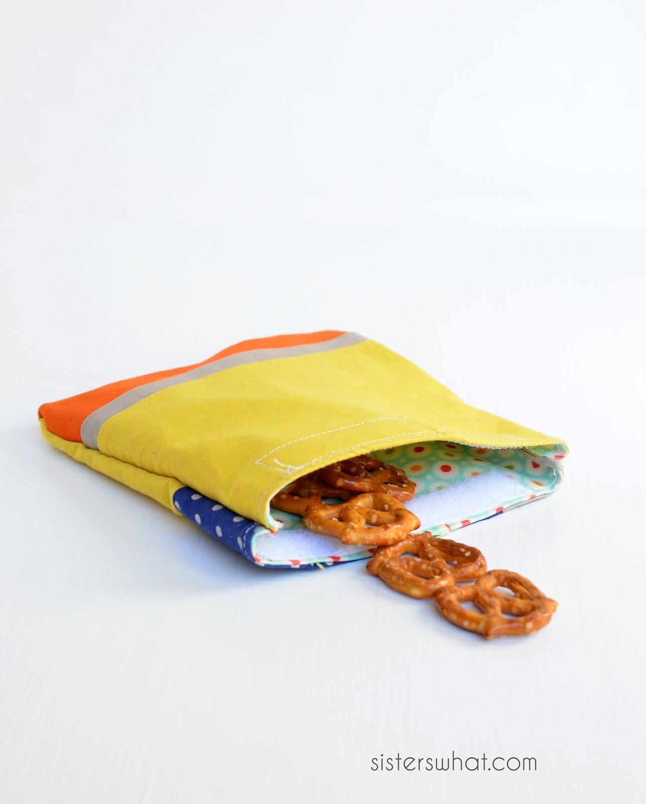 Fold Over Snack Bag