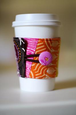 Reversible Coffee Cup Sleeve