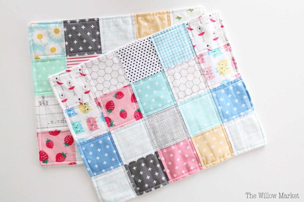 simple burp cloths