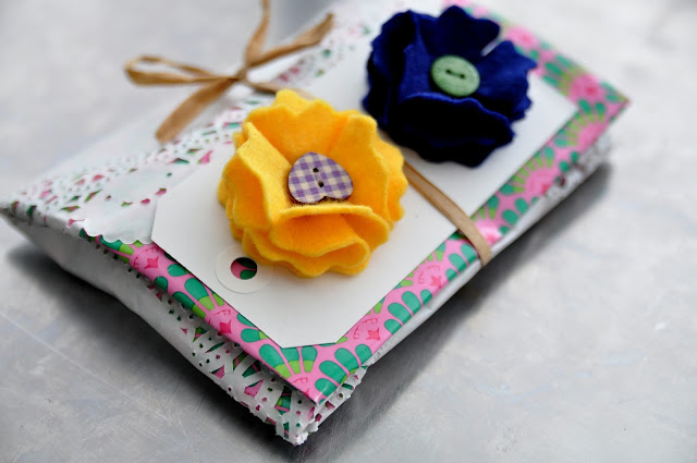 Little Flower Brooches
