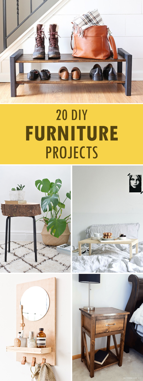 20 DIY Furniture Projects You Can Make On A Budget